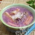 Bếp Eva - Chè chuối khoai lang tím đầy hấp dẫn