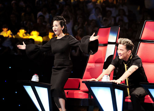 "the voice tap 2: ""at chu bai"" ve doi my linh - 2"