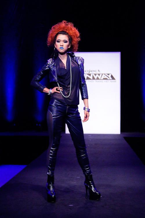 project runway: maya gay 'kho khan' cho thi sinh - 15