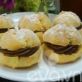 Bếp Eva - Bánh su kem nhân chocolate