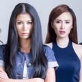 """Làng sao sony - Trang Trần dẫn Angela Phương Trinh """"xung trận"""""""
