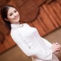 Thời trang - HH Ngọc Hân - cô gái Việt truyền thống