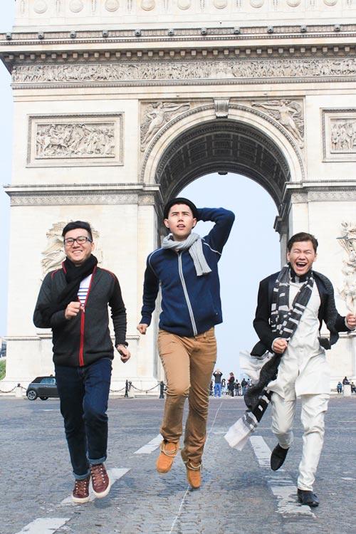 Top 3 Project Runway thăm thú Paris-2