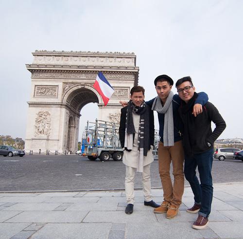 Top 3 Project Runway thăm thú Paris-4