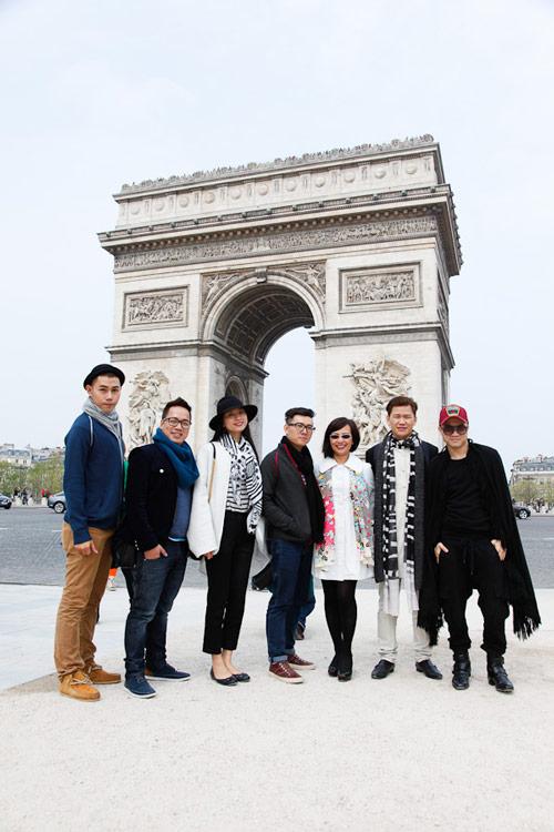 Top 3 Project Runway thăm thú Paris-6