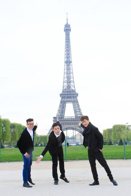 Top 3 Project Runway thăm thú Paris-5