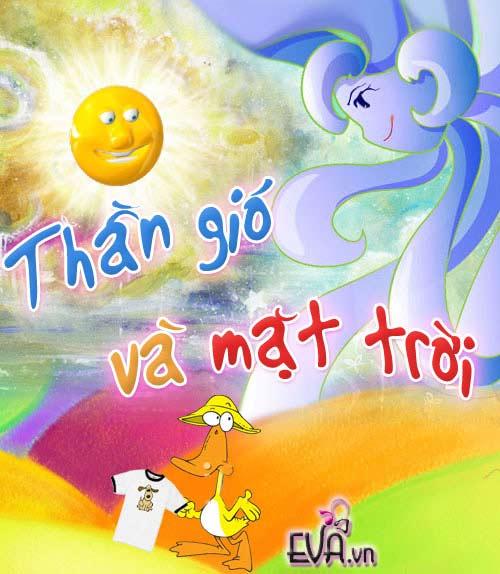 """me ke con nghe: """"than gio va mat troi"""" - 1"""
