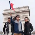 Thời trang - Top 3 Project Runway thăm thú Paris