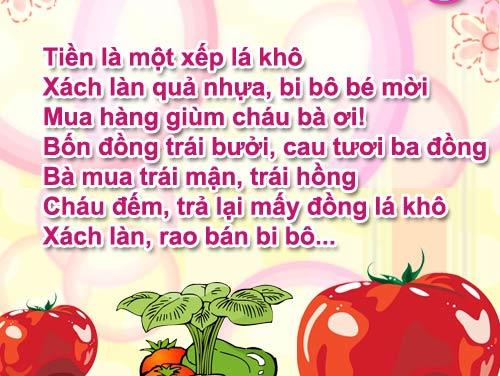 "me ke con nghe: ""be chau ban hang"" - 2"