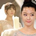 Làm đẹp - Sao Hàn đẹp lộng lẫy ngày lên xe hoa