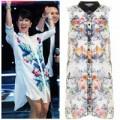 Thời trang - Hồng Nhung 'ghi điểm' với mốt sơ mi váy