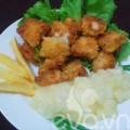 Bếp Eva - Mực chiên xù sốt dứa
