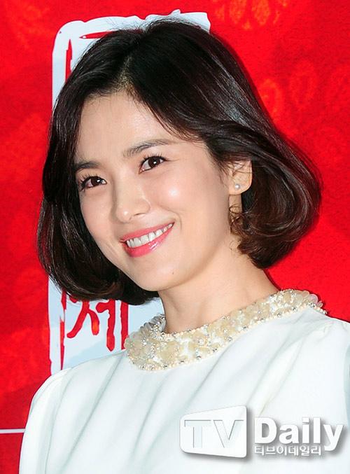 song hye kyo xinh lung linh voi toc ngan - 4