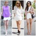 Thời trang - Quần soóc giả váy  Zara gây 'bão' đường phố