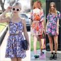"""Thời trang - Váy áo hoa """"nở rộ"""" trên phố nắng ngày hè"""