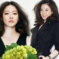 Làm đẹp - Lee Young Ae giảm cân bằng nho