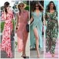 Chọn váy maxi diện hè cùng Miranda Kerr