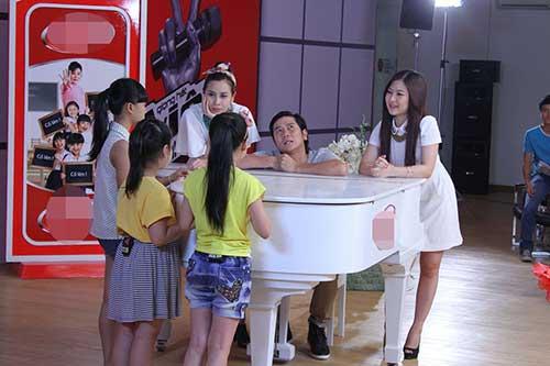 huong tram lam co van the voice kids - 5