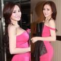 Thời trang - Vy Oanh khoe đường cong chuẩn với váy dạ hội