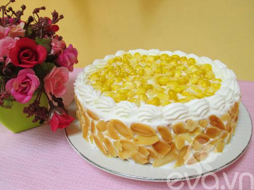 Bánh kem ngô tươi ngon mừng sinh nhật - 12