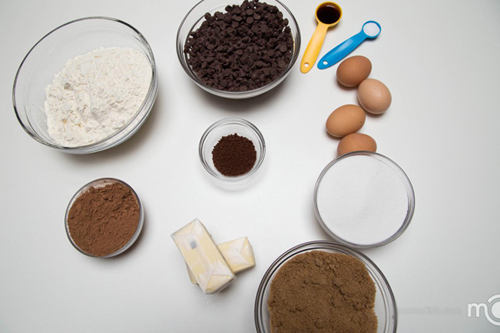 banh quy chocolate ca phe gion tan - 1