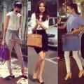Thời trang - Bắt bài style phối túi xách của Thanh Hằng