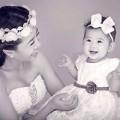 Làng sao - Bà mẹ đơn thân Mai Phương khoe ảnh con gái