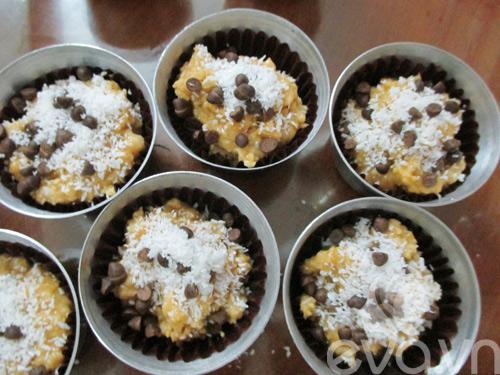thanh thoi nham nhi banh muffin chuoi dua - 8