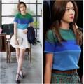 Thời trang - Hàn Quốc: Nở rộ thời trang nhái của 'minh tinh trái đất'
