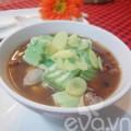 Bếp Eva - Chè đậu đỏ thạch trà xanh cuối tuần