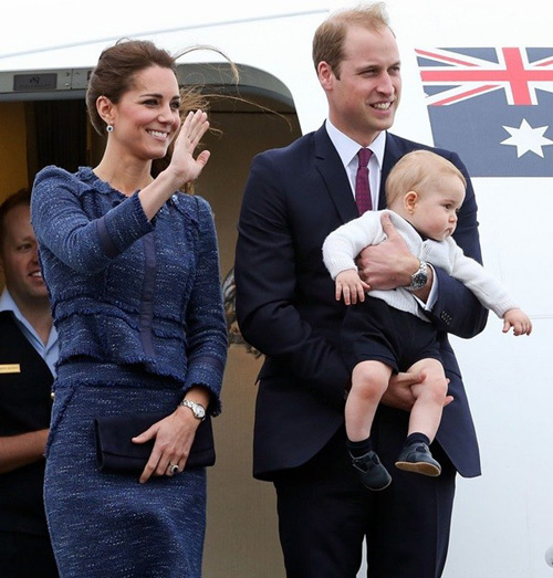 Hoàng tử bé nước Anh xuất ngoại đi Úc-3