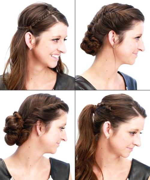 6 cách làm mới cho mái tóc dài-1