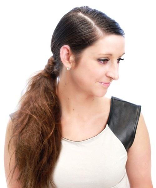 6 cách làm mới cho mái tóc dài-2