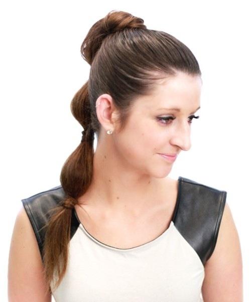 6 cách làm mới cho mái tóc dài-3