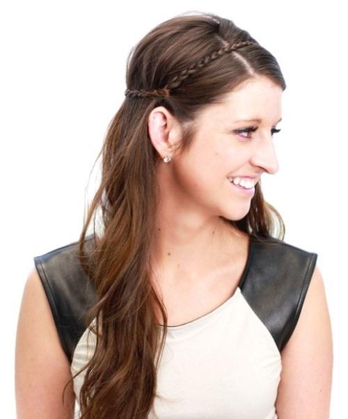 6 cách làm mới cho mái tóc dài-7