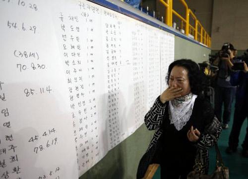 Trắng đêm tìm kiếm nạn nhân vụ chìm phà Hàn Quốc - 12