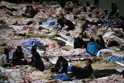 Trắng đêm tìm kiếm nạn nhân vụ chìm phà Hàn Quốc - 4