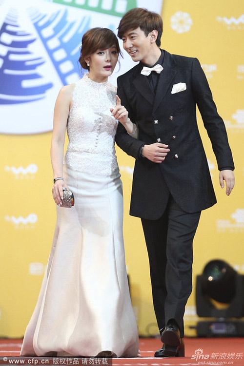 Chae Rim tình tứ cùng bạn trai trên thảm đỏ-1