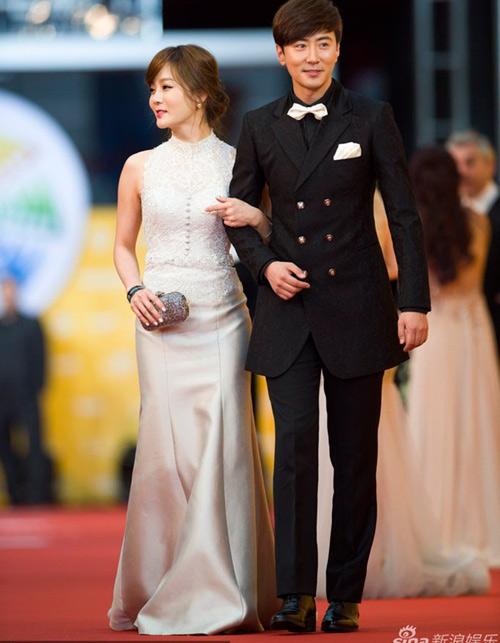 Chae Rim tình tứ cùng bạn trai trên thảm đỏ-3