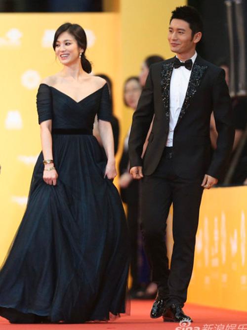 Chae Rim tình tứ cùng bạn trai trên thảm đỏ-5