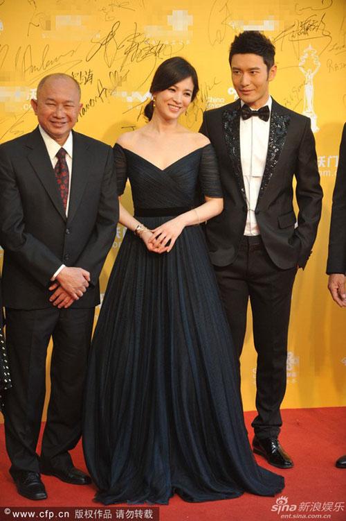 Chae Rim tình tứ cùng bạn trai trên thảm đỏ-7