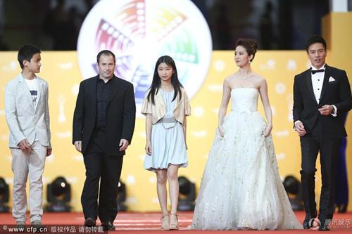 Chae Rim tình tứ cùng bạn trai trên thảm đỏ-14