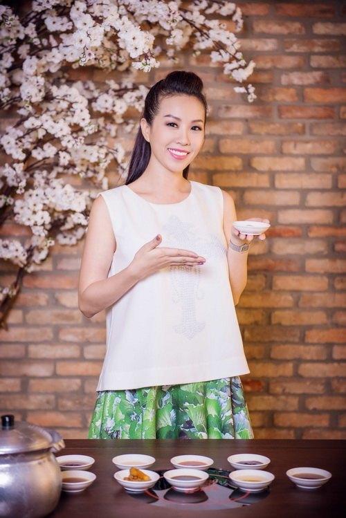 Hoa hậu Thu Hoài đẹp bất chấp tuổi 37-6