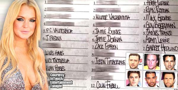 """Lindsay khóc khi lộ danh sách """"tình một đêm""""-2"""