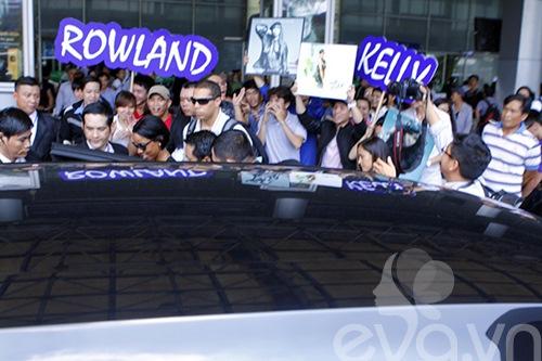 Em chồng Hà Tăng bảnh bao đón Kelly Rowland-9