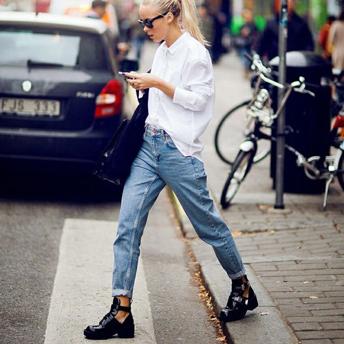 Mặc quần jeans của mẹ, bạn có dám?-4