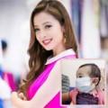 Làng sao - Jennifer Phạm đưa con gái đi tiêm phòng sởi