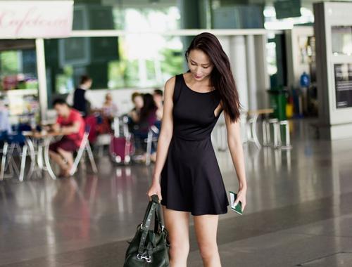 Huyền Trang quyết tâm phát triển sự nghiệp ở Singapore-4