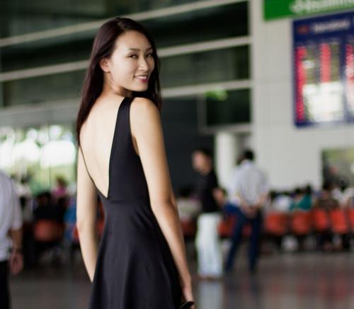 Huyền Trang quyết tâm phát triển sự nghiệp ở Singapore-5