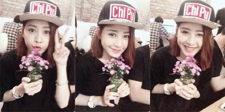 Hoa hậu Diễm Hương say xỉn khi đi nhậu-10